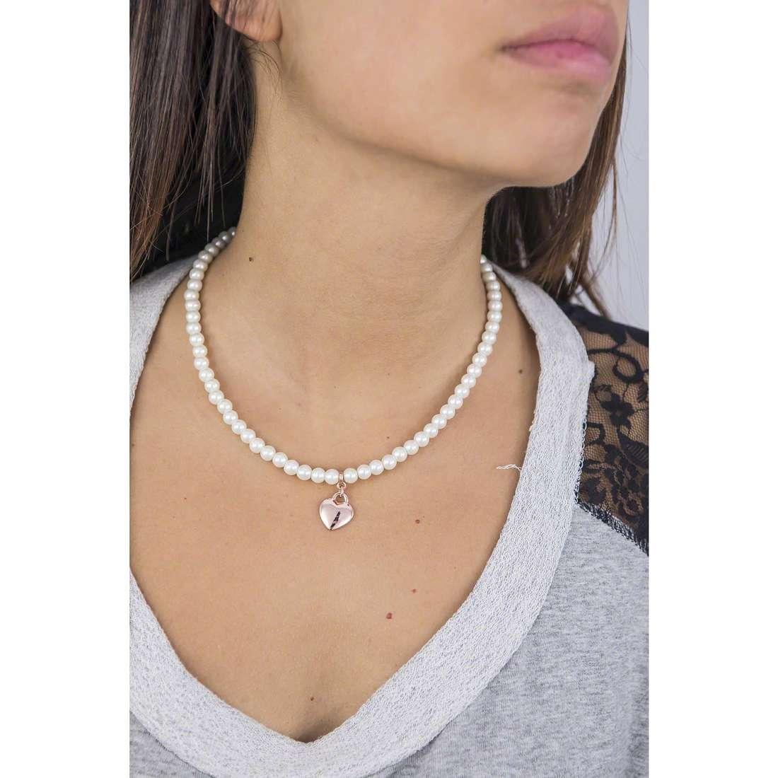 Luca Barra necklaces woman LBCK773 indosso