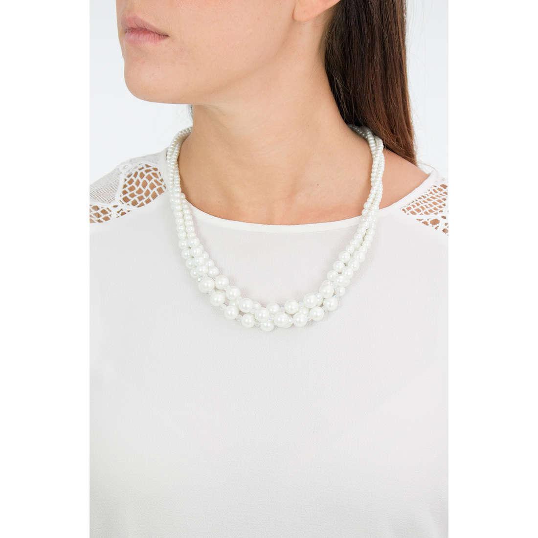Luca Barra necklaces woman LBCK778 indosso