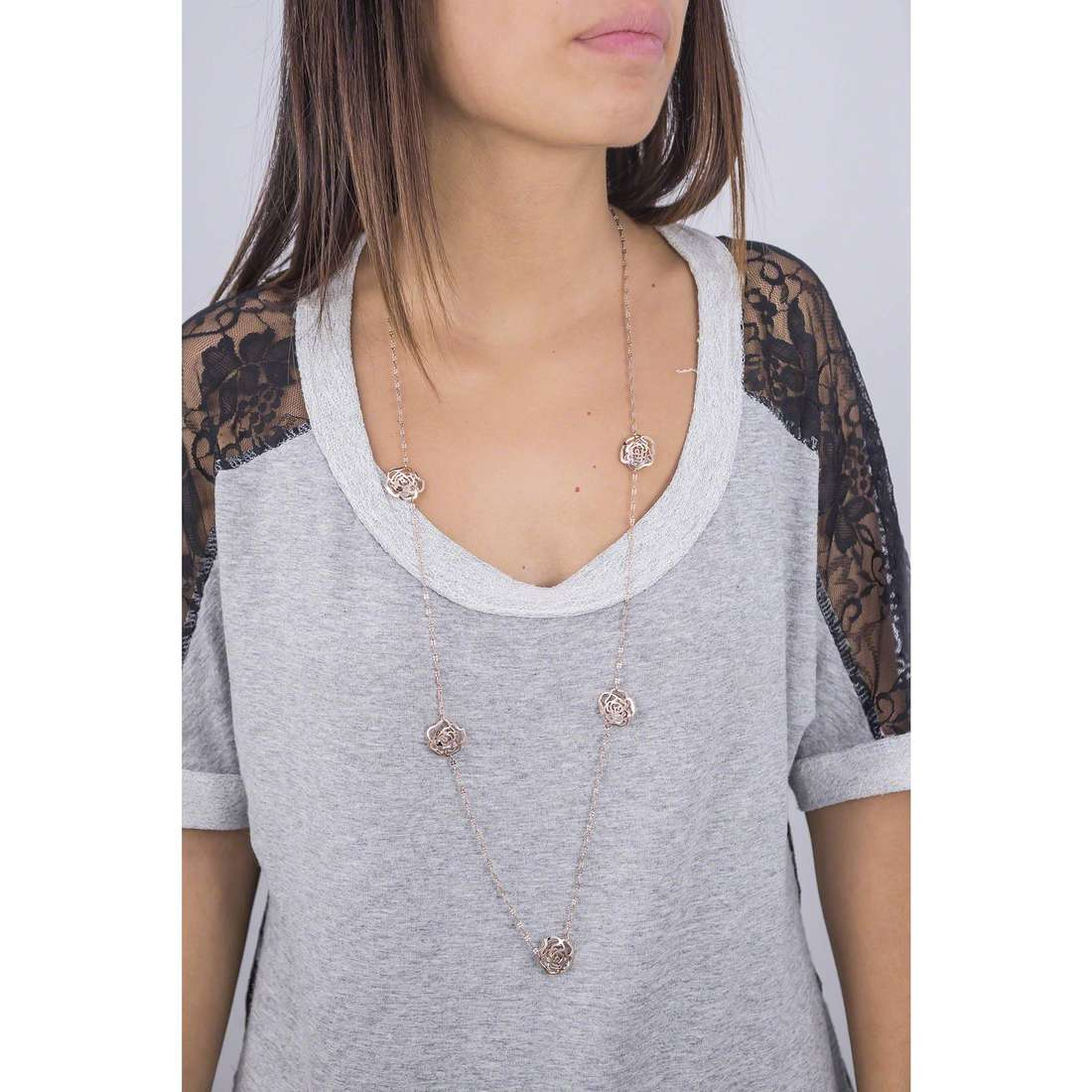 Marlù necklaces Chic woman 4CO0099R indosso