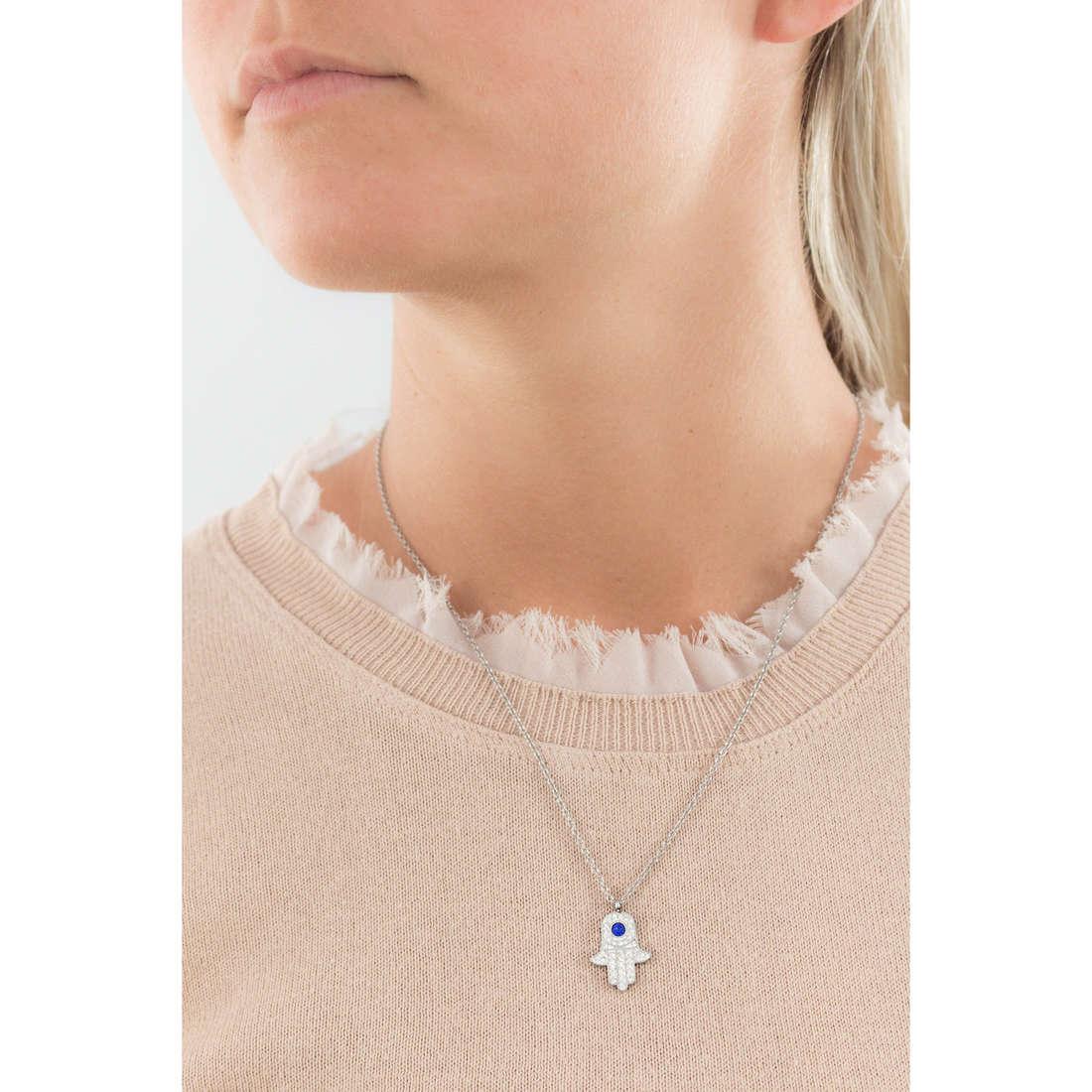 Marlù necklaces Mano Di Fatima woman 14CN036 indosso