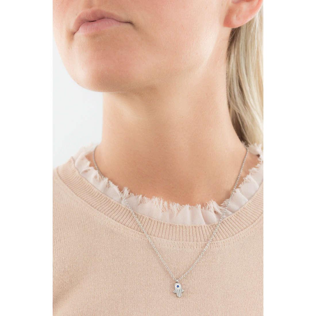 Marlù necklaces Mano Di Fatima woman 14CN037 indosso