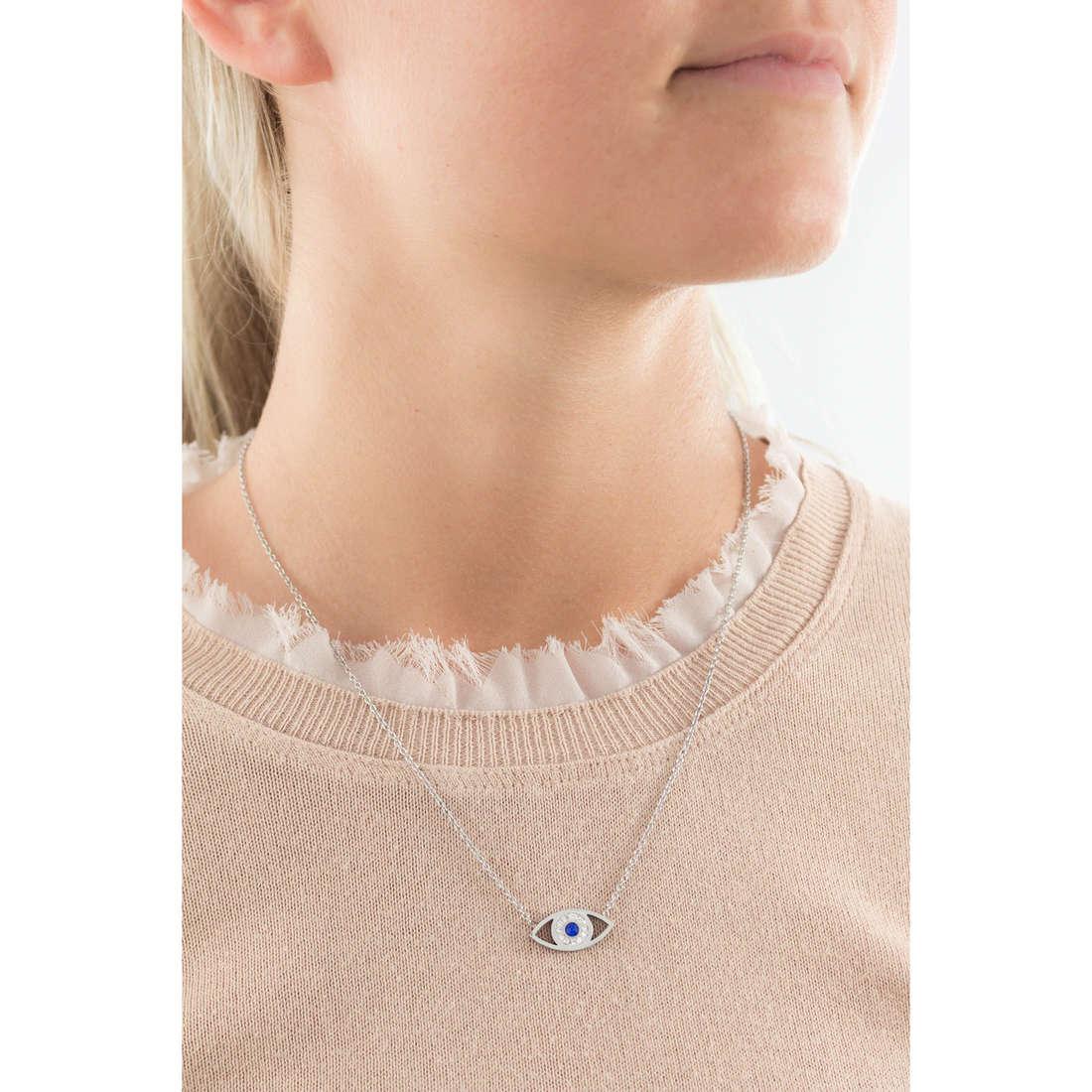 Marlù necklaces Mano Di Fatima woman 14CN038 indosso