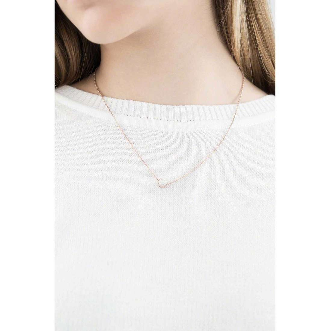 Marlù necklaces My World woman 18CN014R indosso