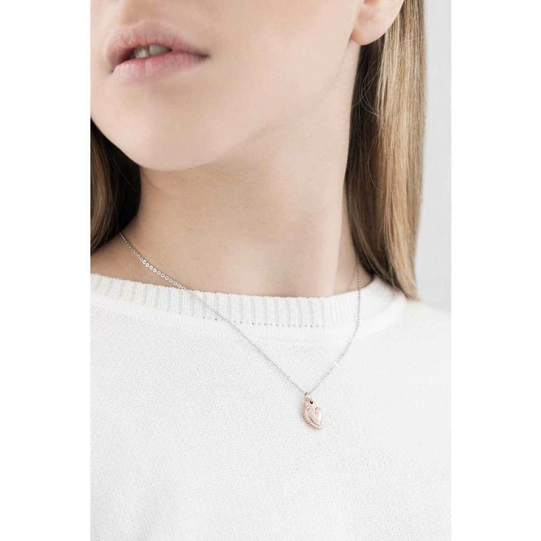 Marlù necklaces Sacro Cuore woman 13CN033 indosso