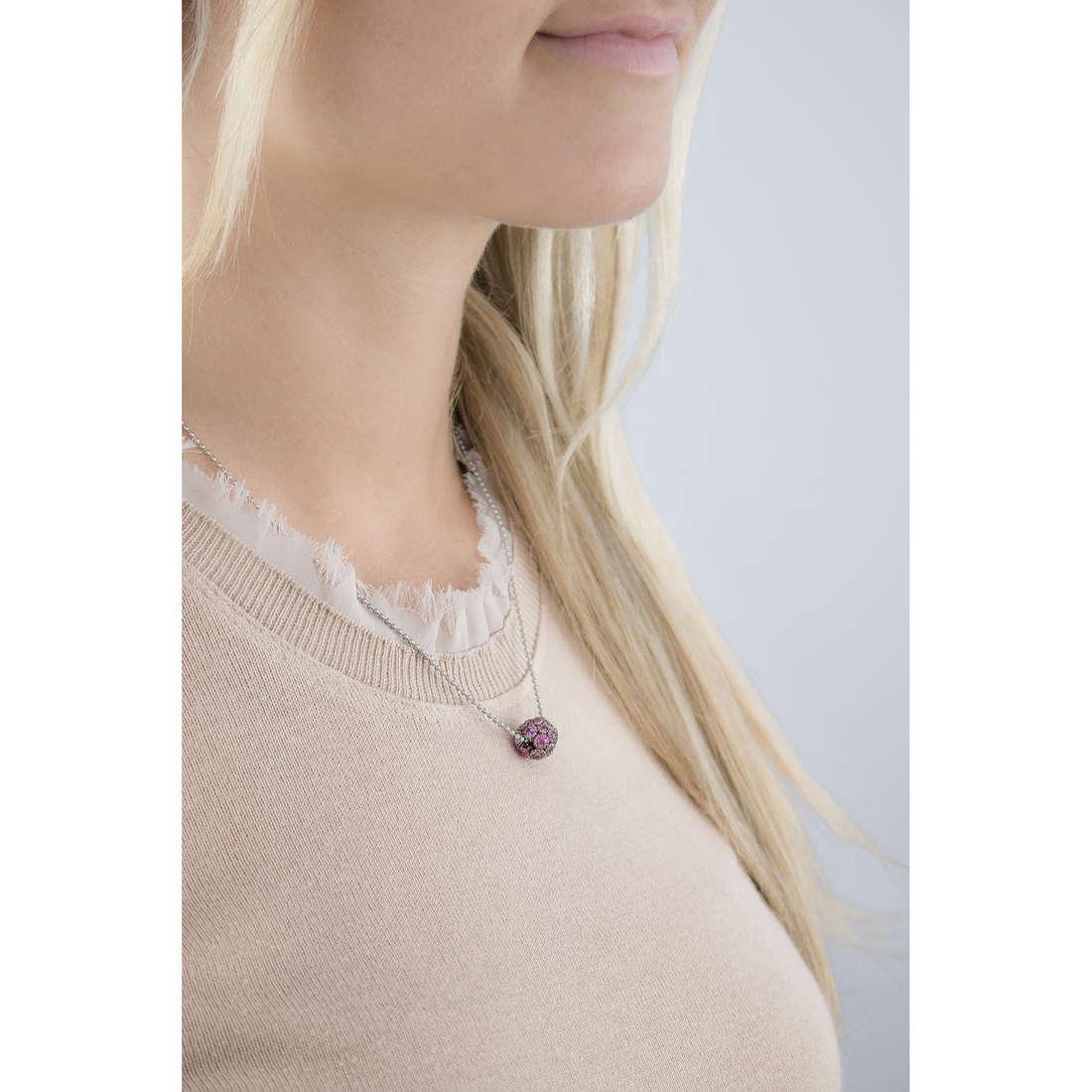 Marlù necklaces Satelliti woman 6CN0133 indosso