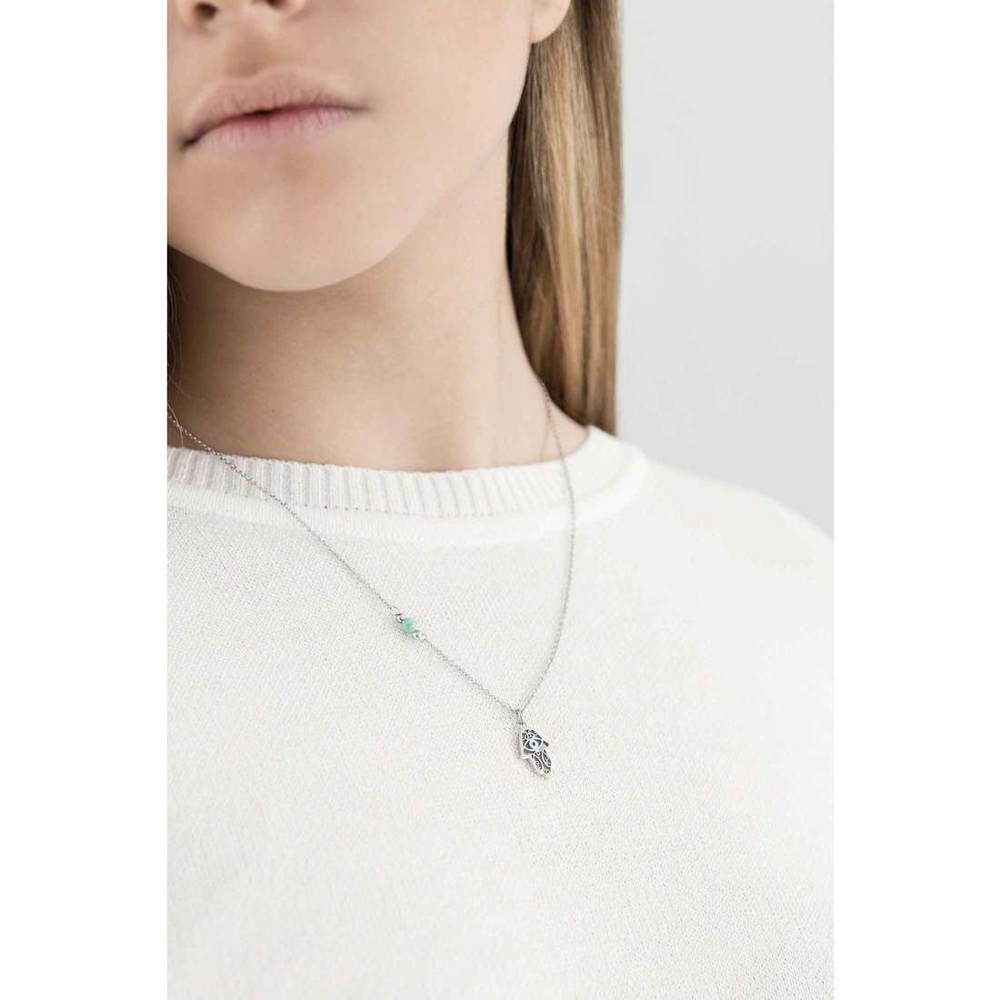 Marlù necklaces Segni woman 14CN035 indosso
