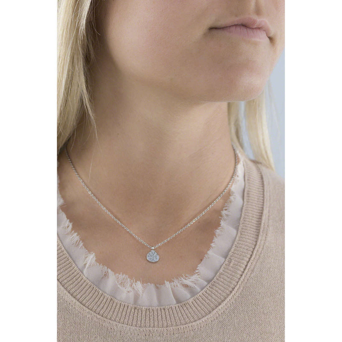 Marlù necklaces Time To woman 18CN031 indosso