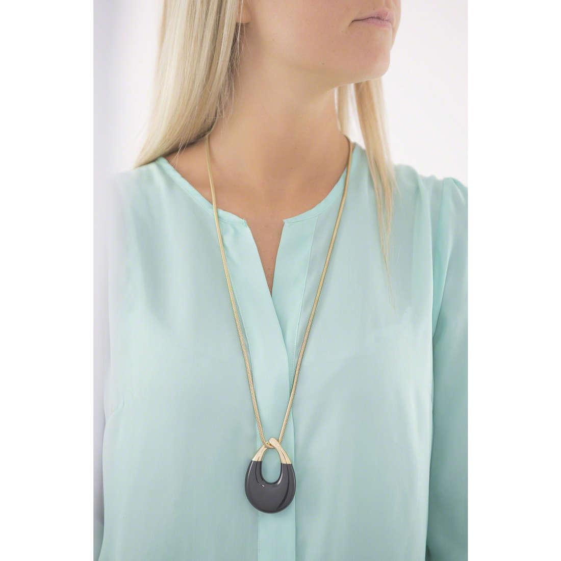 Michael Kors necklaces woman MKJ5776710 indosso