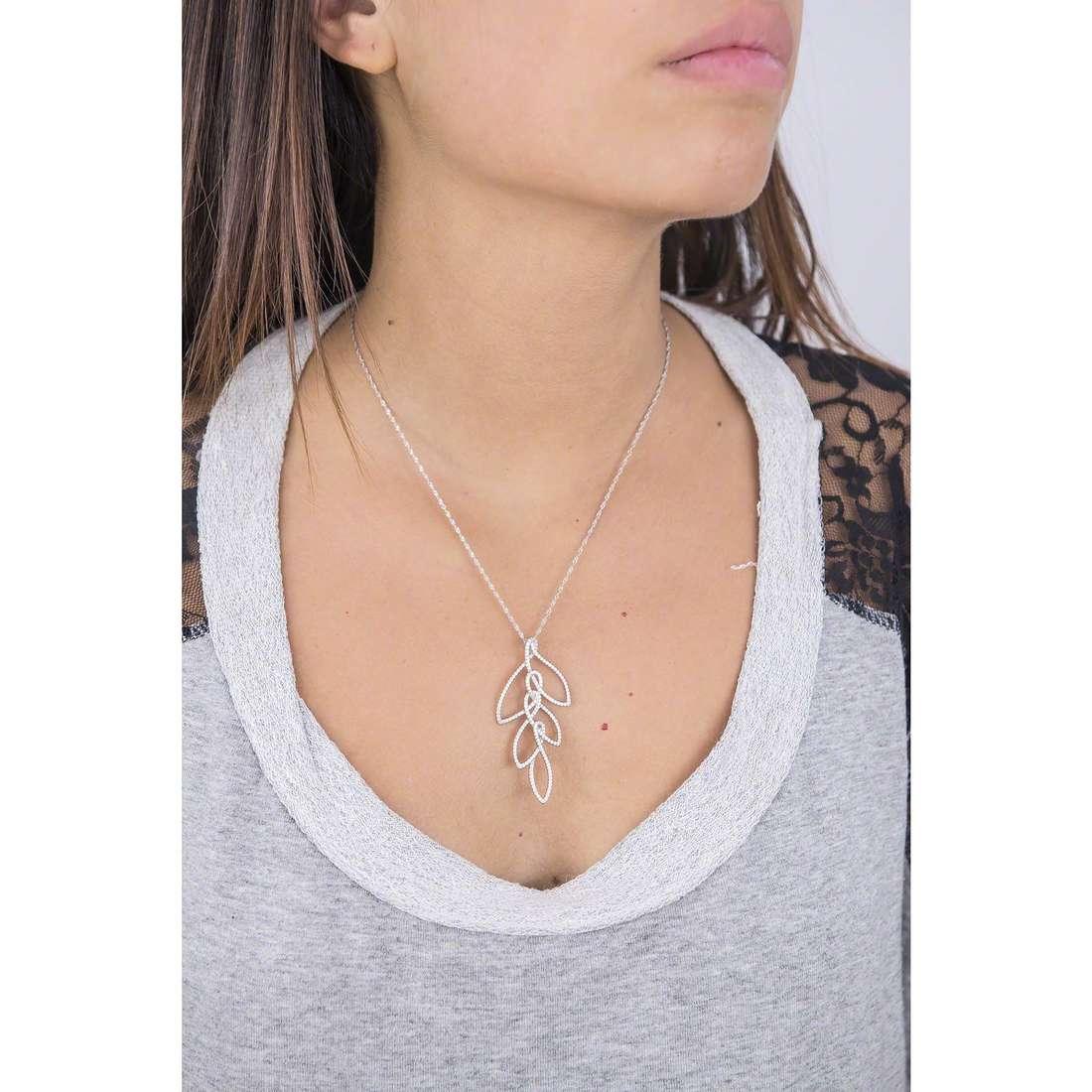 Morellato necklaces 1930 Michelle Hunziker woman SAHA04 indosso