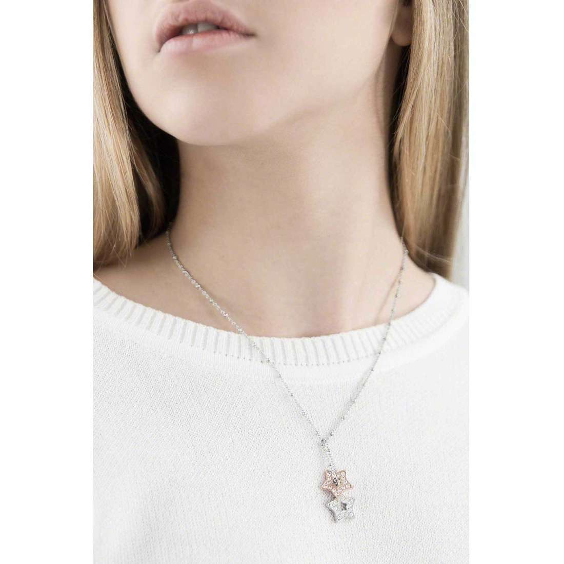 Morellato necklaces Abbraccio woman SABG02 indosso