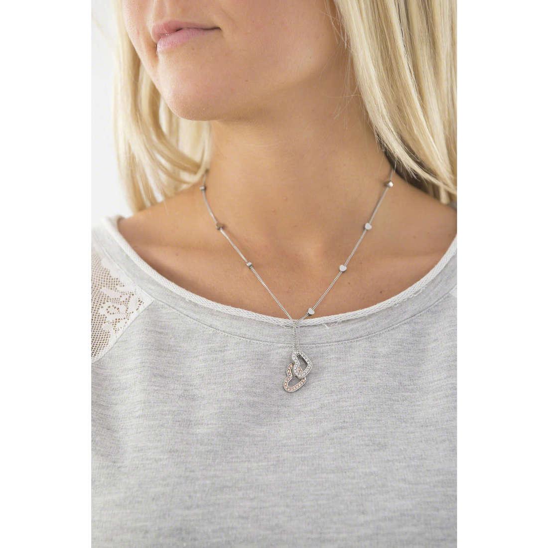 Morellato necklaces Abbraccio woman SABG04 indosso