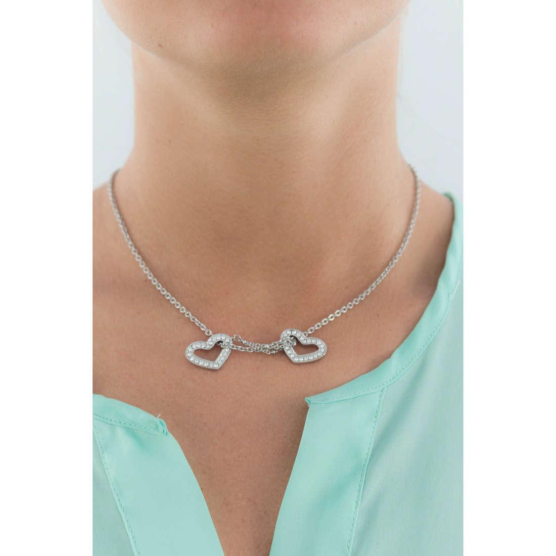 Morellato necklaces Abbraccio woman SABG05 indosso