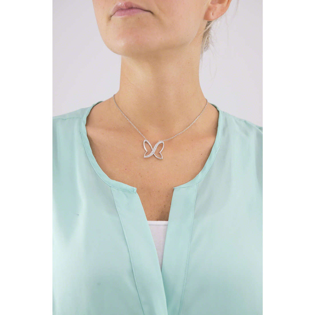 Morellato necklaces Battito woman SAHO02 indosso