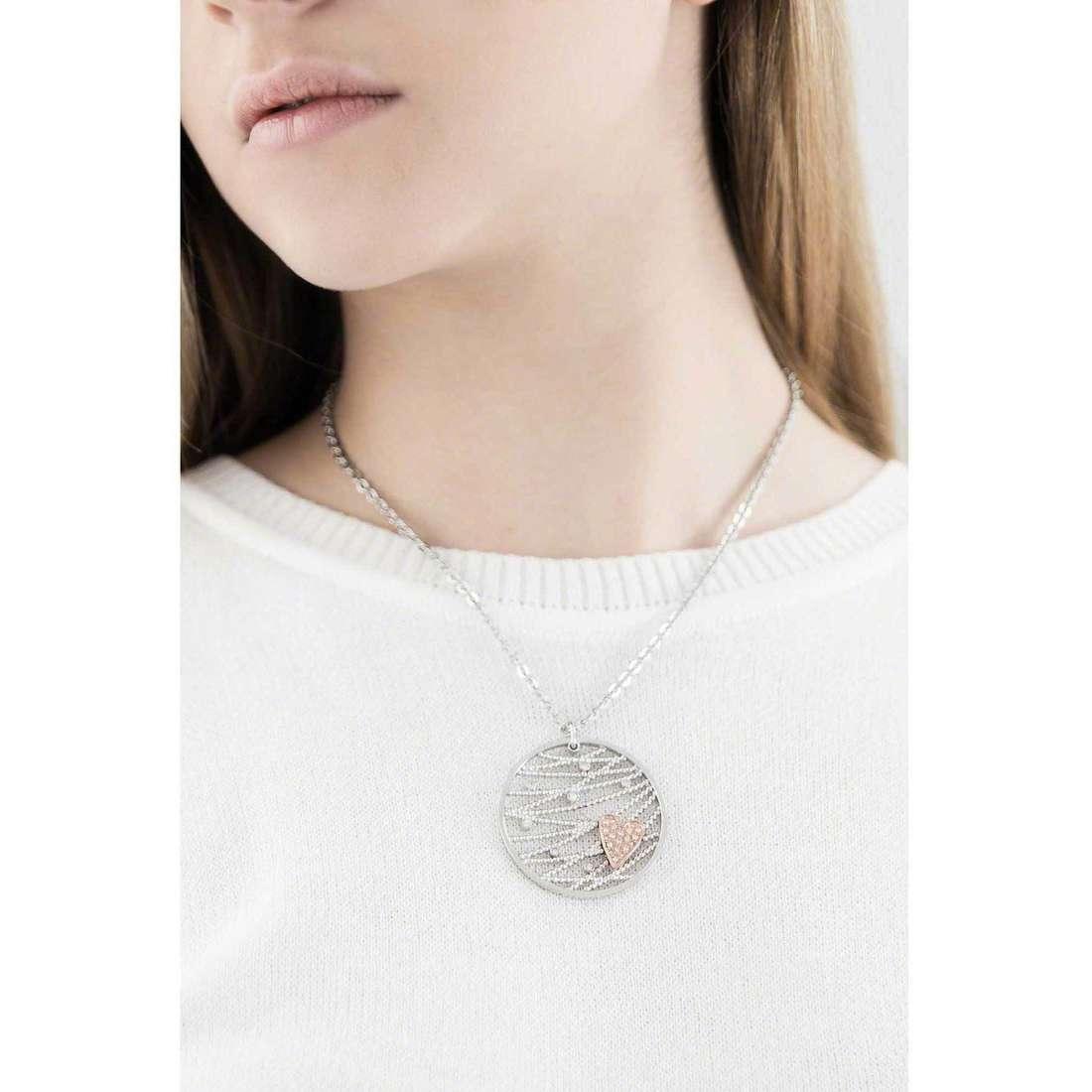 Morellato necklaces Cuore Mio woman SADA05 indosso