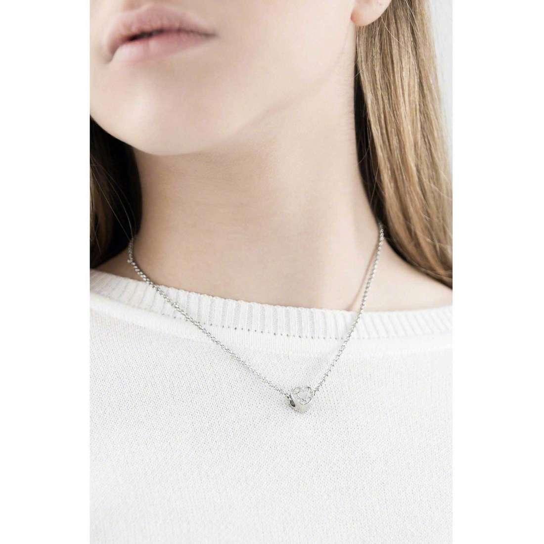 Morellato necklaces Drops woman SCZ254 indosso