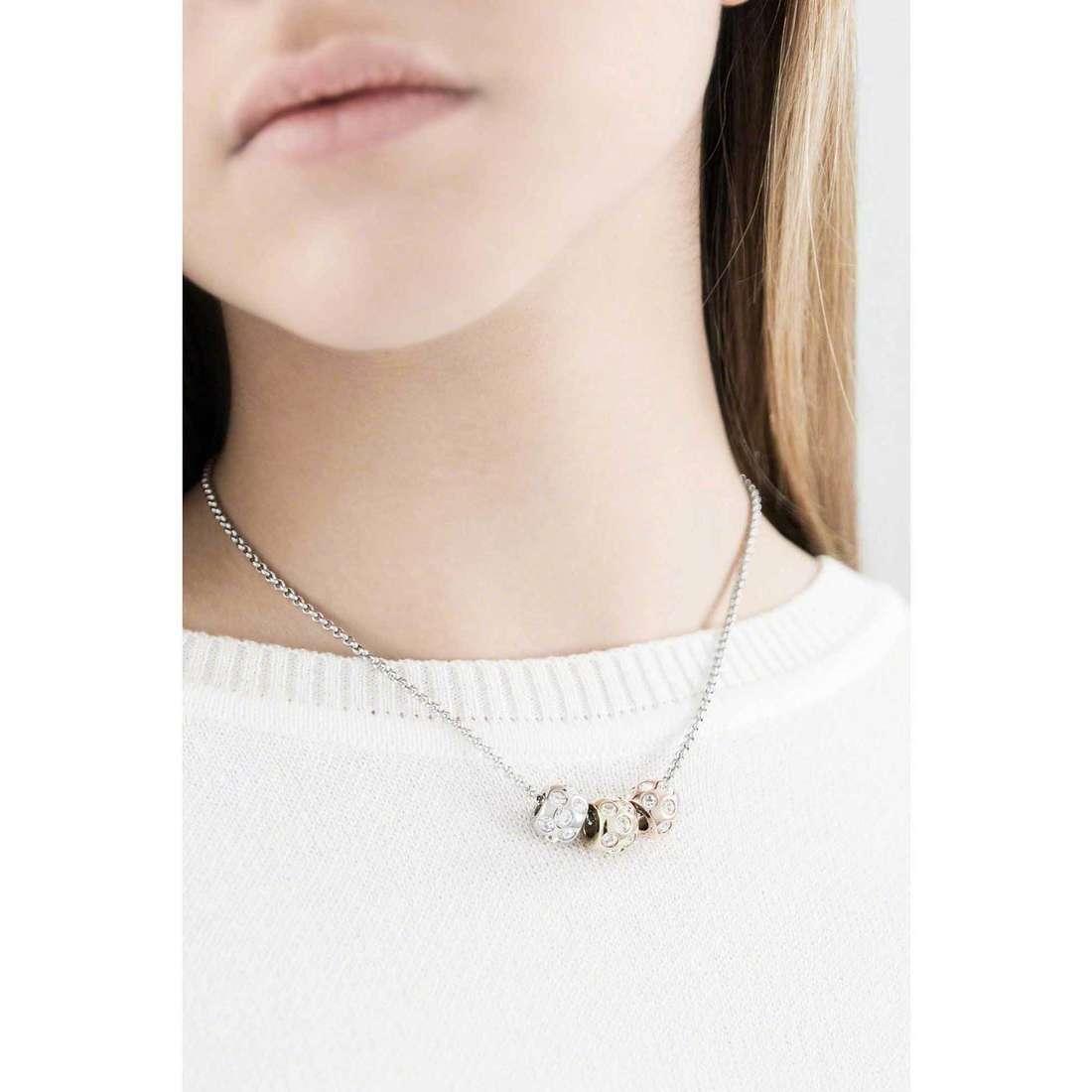 Morellato necklaces Drops woman SCZ335 indosso