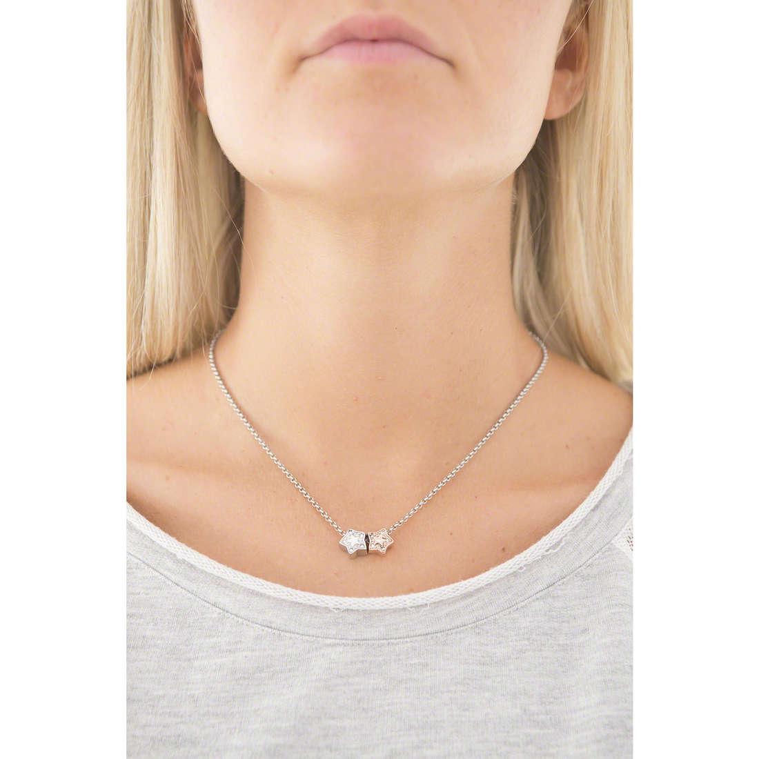 Morellato necklaces Drops woman SCZ543 indosso