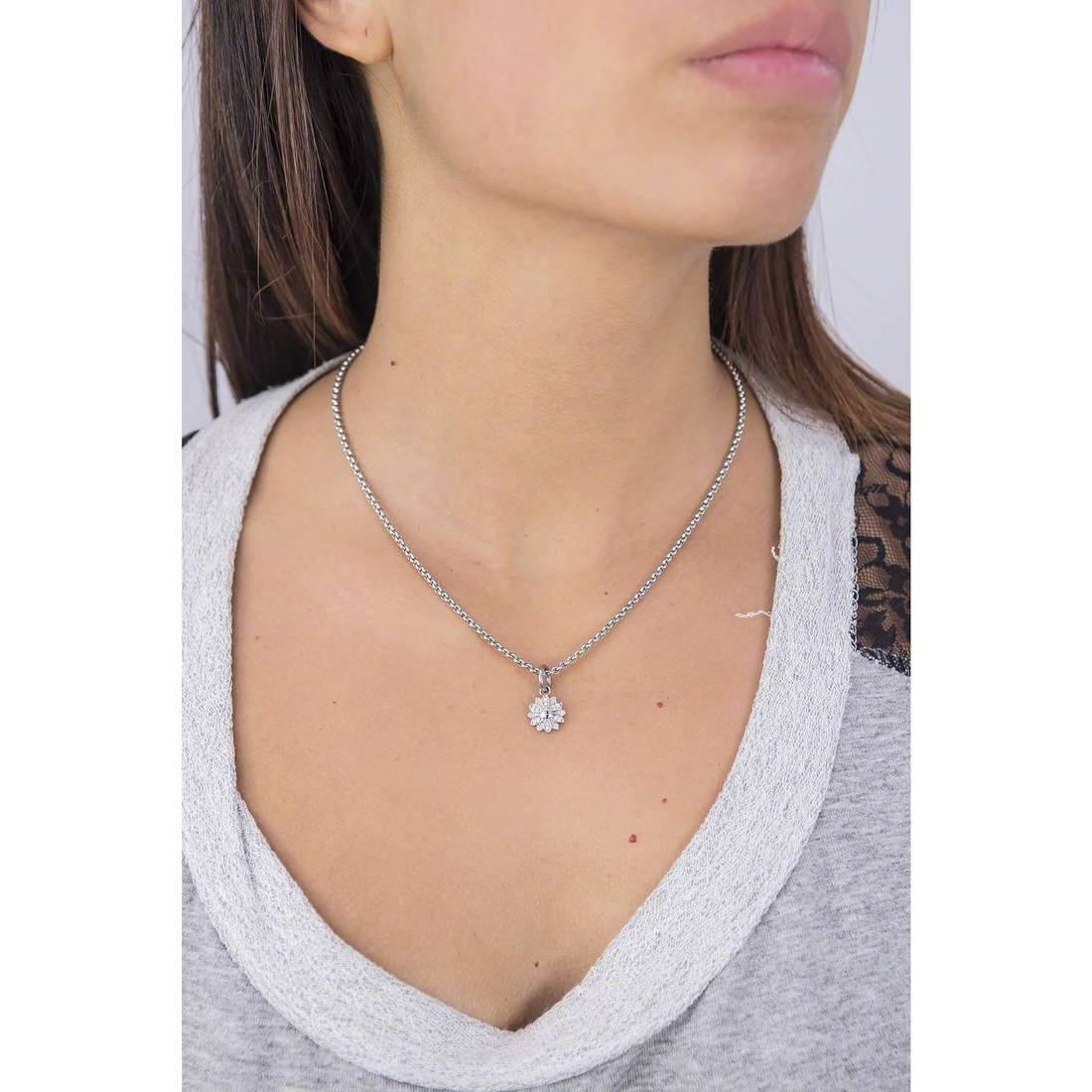 Morellato necklaces Drops woman SCZ734 indosso