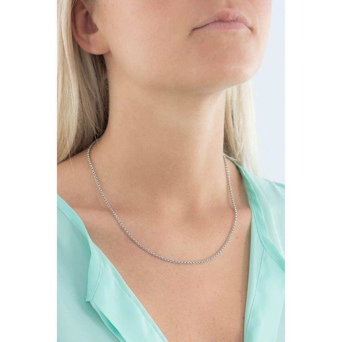 Morellato necklaces Drops woman SCZV9 indosso