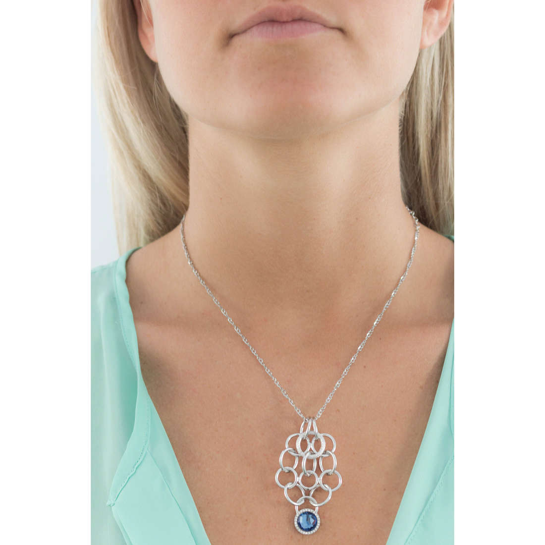 Morellato necklaces Essenza woman SAGX01 indosso