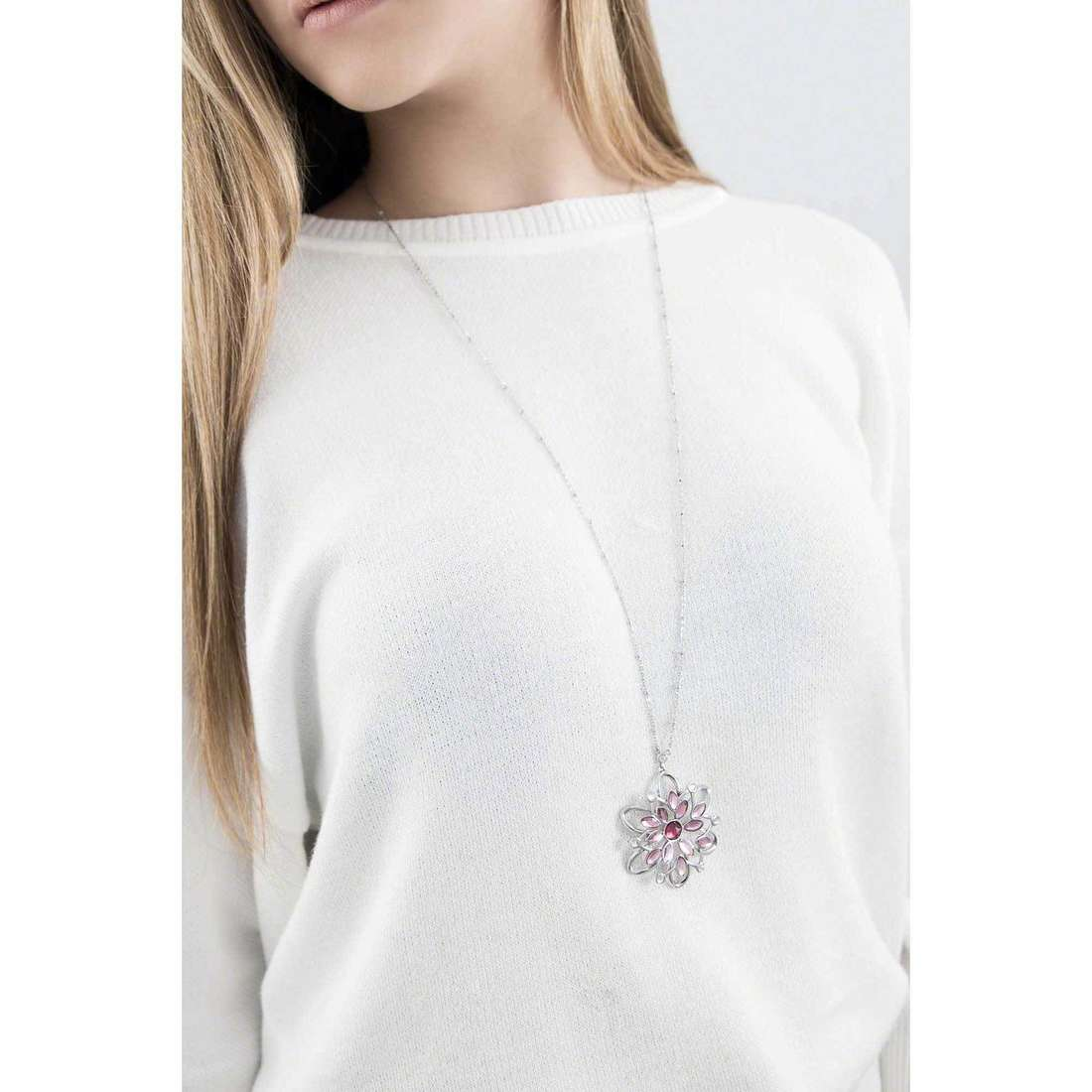 Morellato necklaces Fioremio woman SABK07 indosso