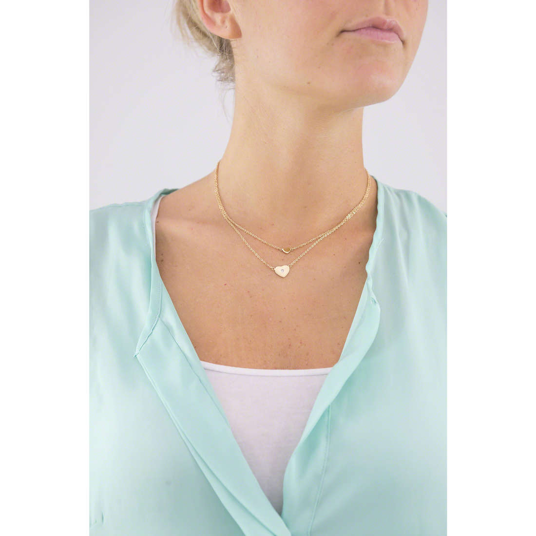 Morellato necklaces Insieme woman SAHM01 indosso