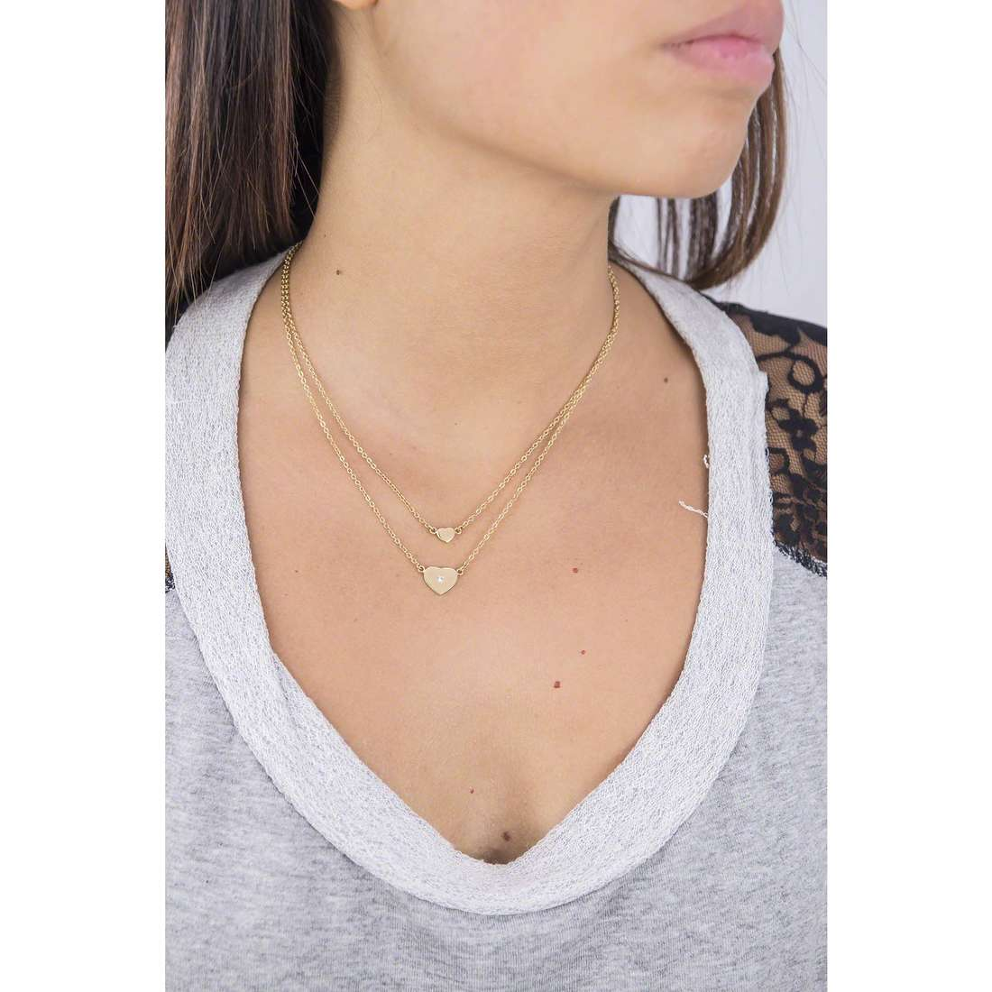 Morellato necklaces Insieme woman SAHM01 photo wearing