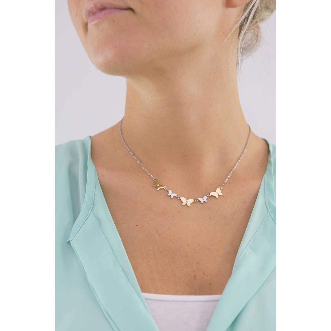 Morellato necklaces Insieme woman SAHM02 indosso