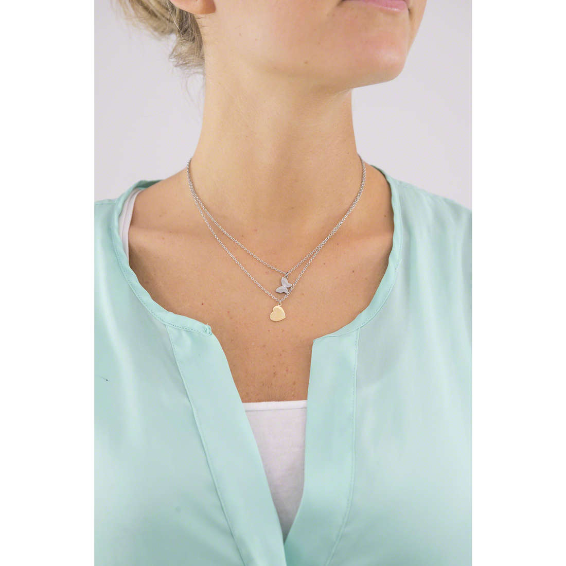 Morellato necklaces Insieme woman SAHM04 indosso