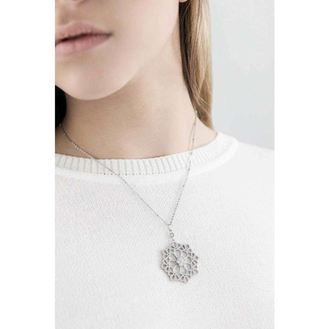 Morellato necklaces Kaleido woman SADY07 indosso