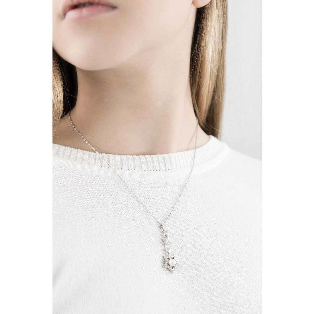 Morellato necklaces Luci woman SACR02 indosso