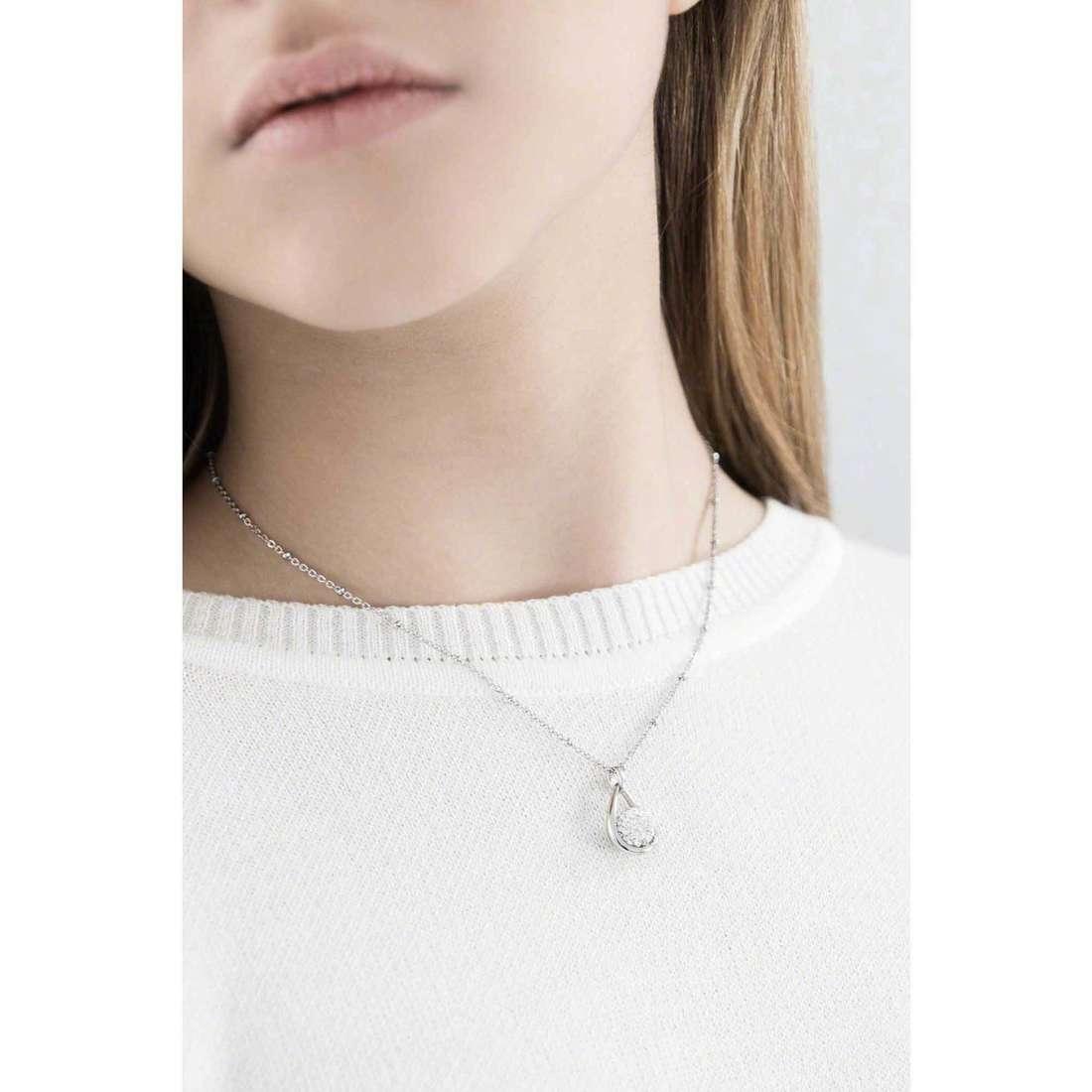 Morellato necklaces Luminosa woman SAET01 indosso