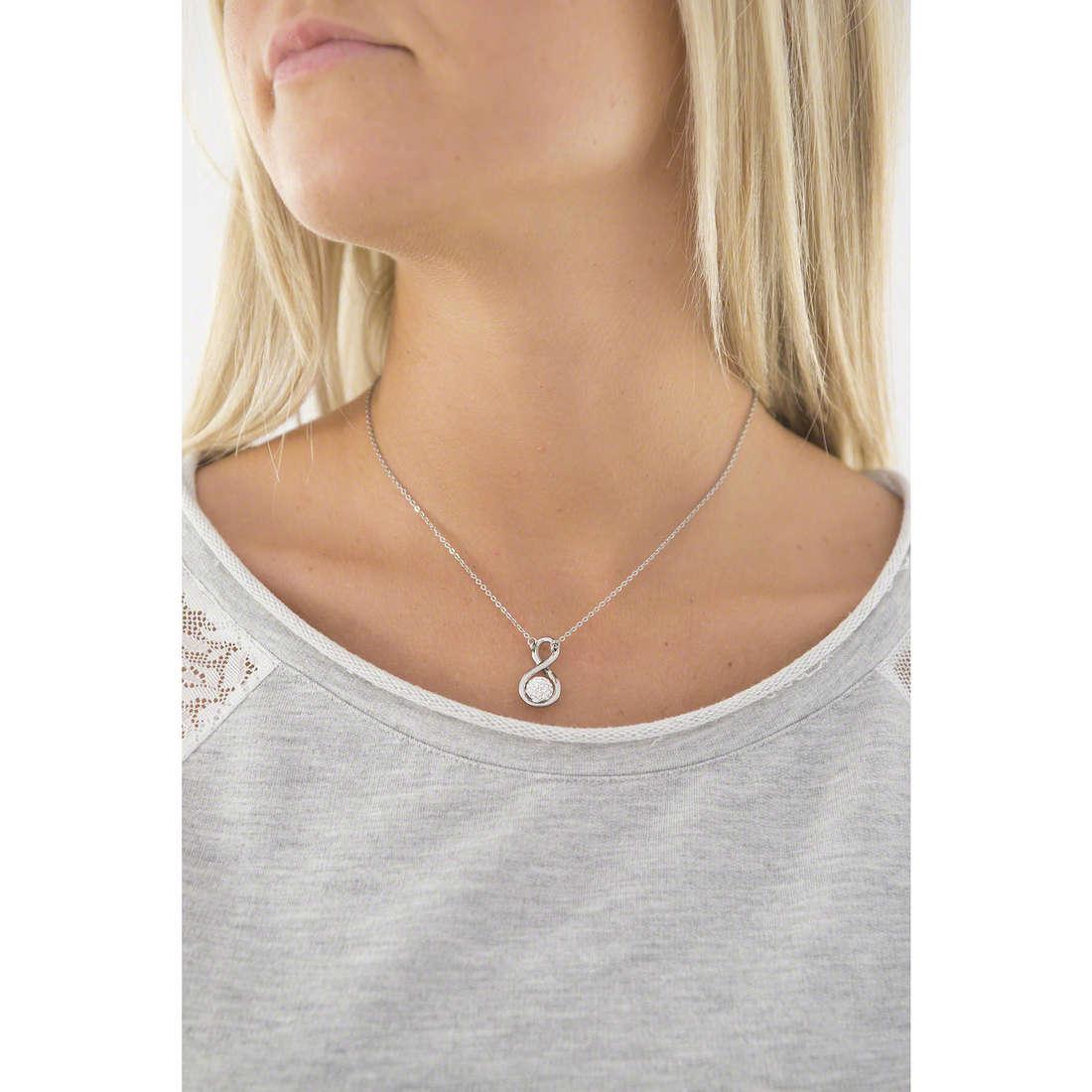 Morellato necklaces Luminosa woman SAET03 indosso