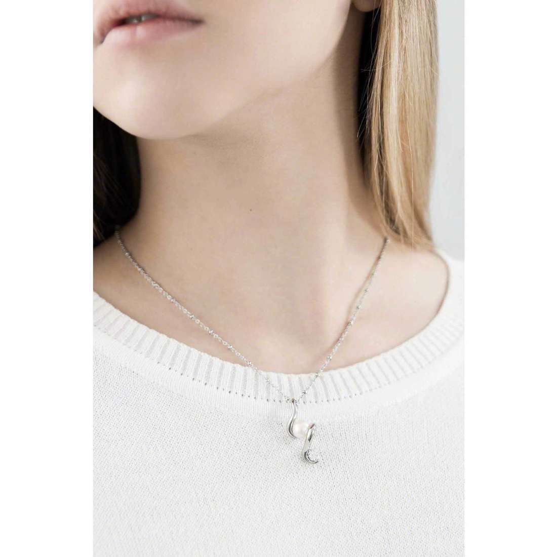 Morellato necklaces Luminosa woman SAET10 indosso