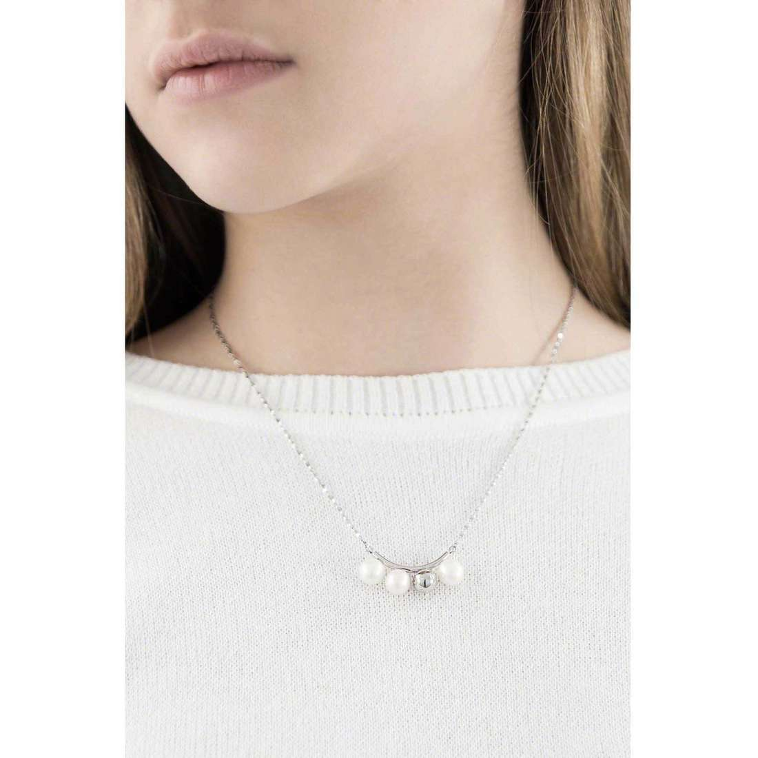 Morellato necklaces Lunae woman SADX07 indosso