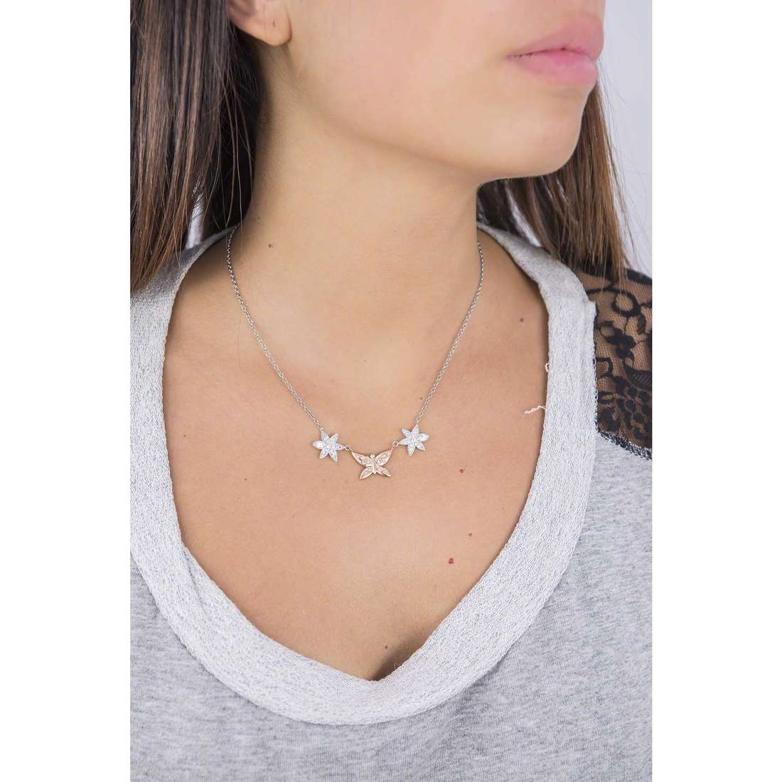 Morellato necklaces Natura woman SAHL02 photo wearing
