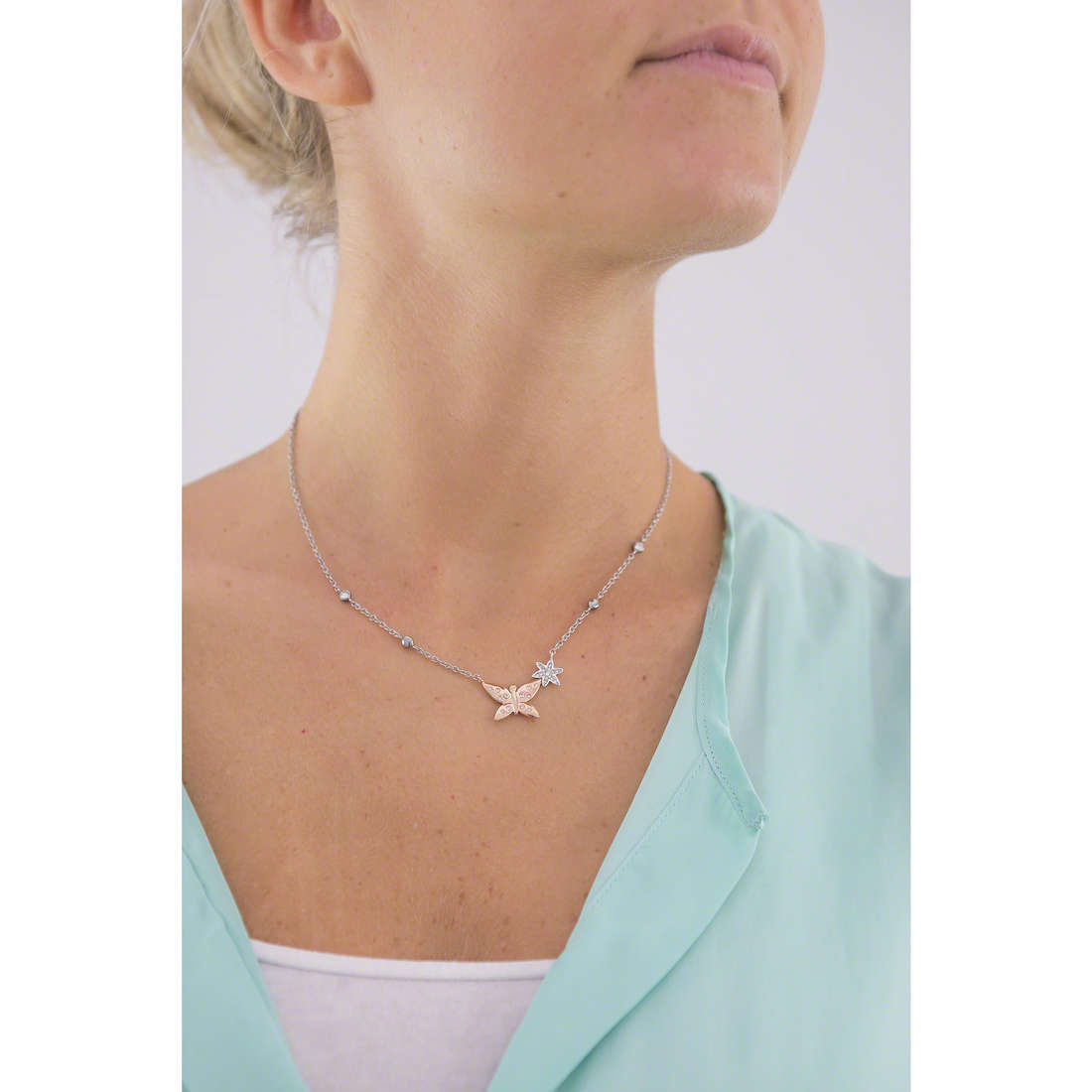 Morellato necklaces Natura woman SAHL03 photo wearing