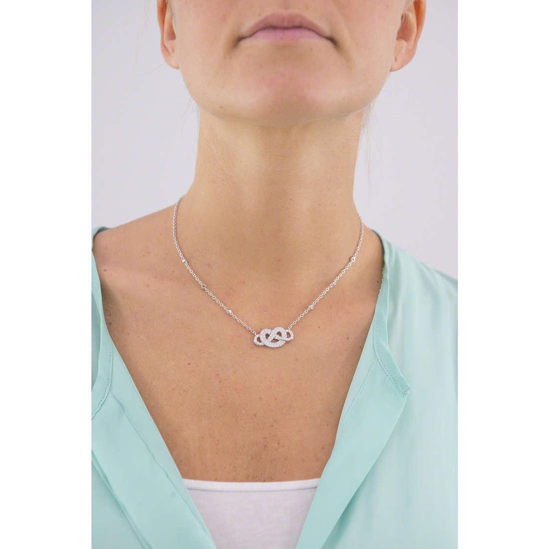 Morellato necklaces Nododamore woman SAHN01 indosso