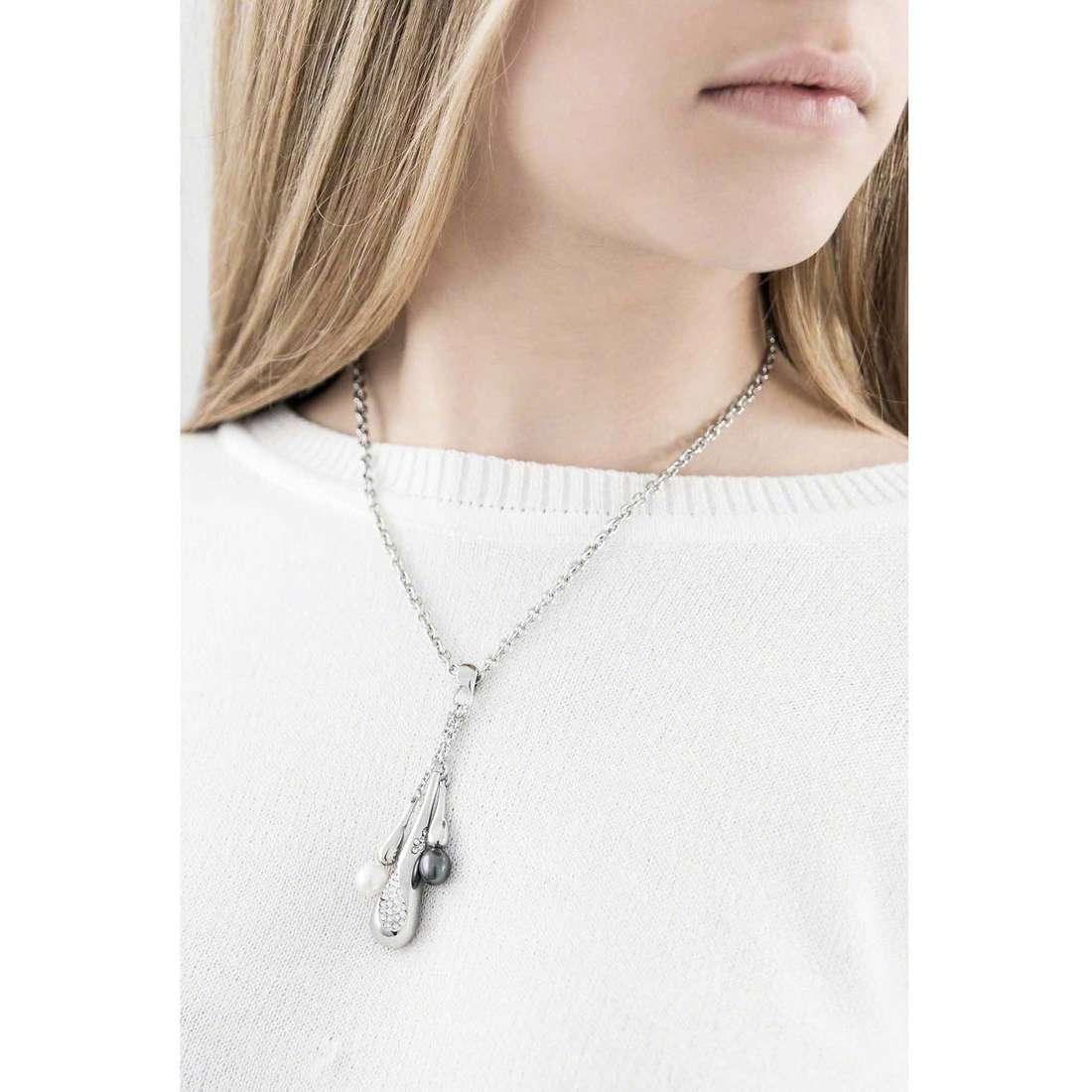 Morellato necklaces Perla woman SXU10 indosso