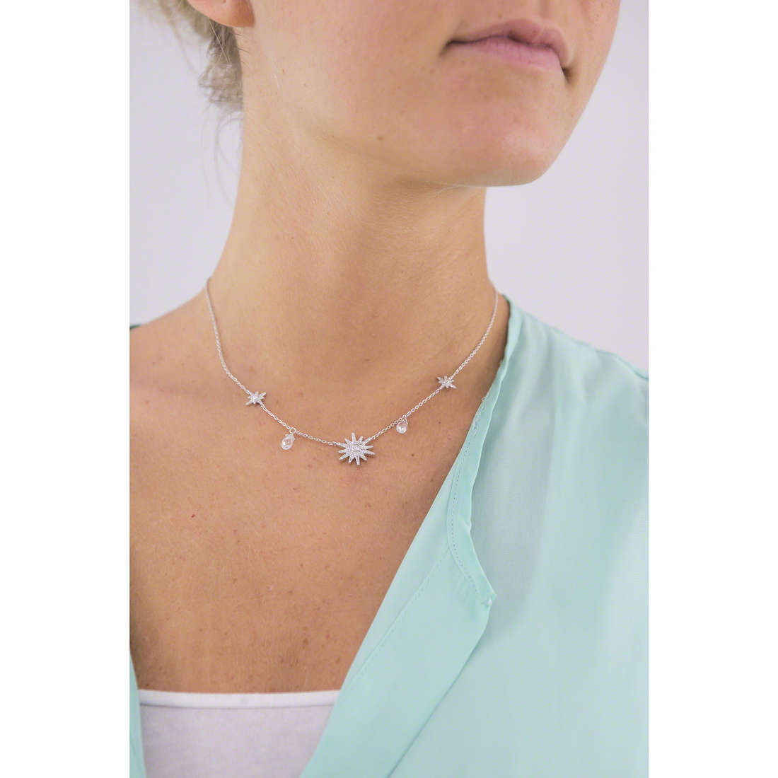 Morellato necklaces Pura woman SAHR01 photo wearing