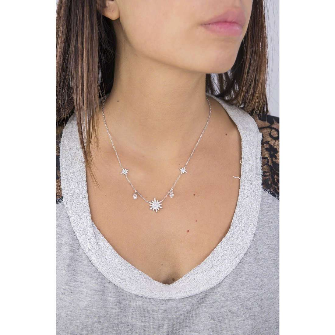 Morellato necklaces Pura woman SAHR01 indosso