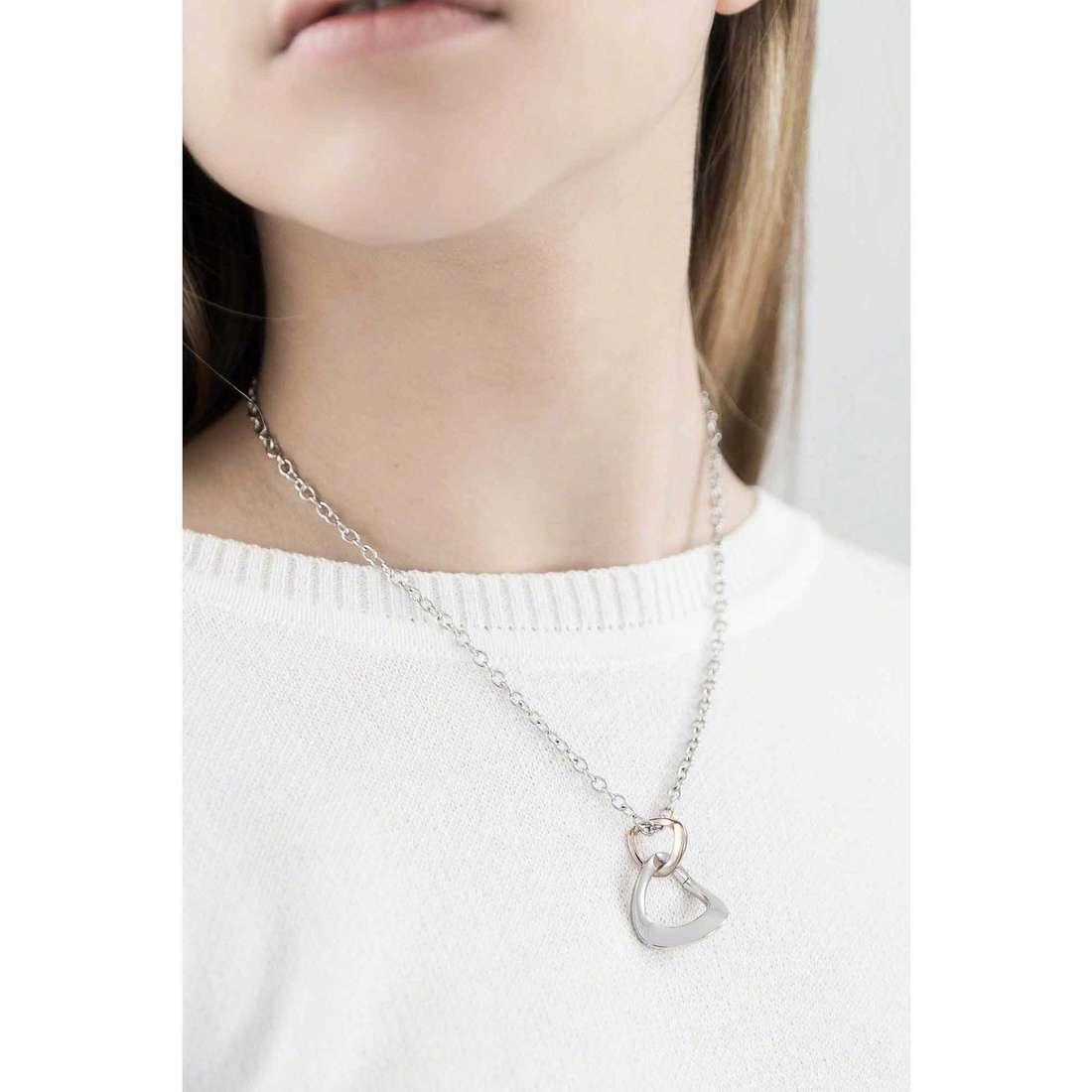 Morellato necklaces Senza fine woman SKT02 indosso