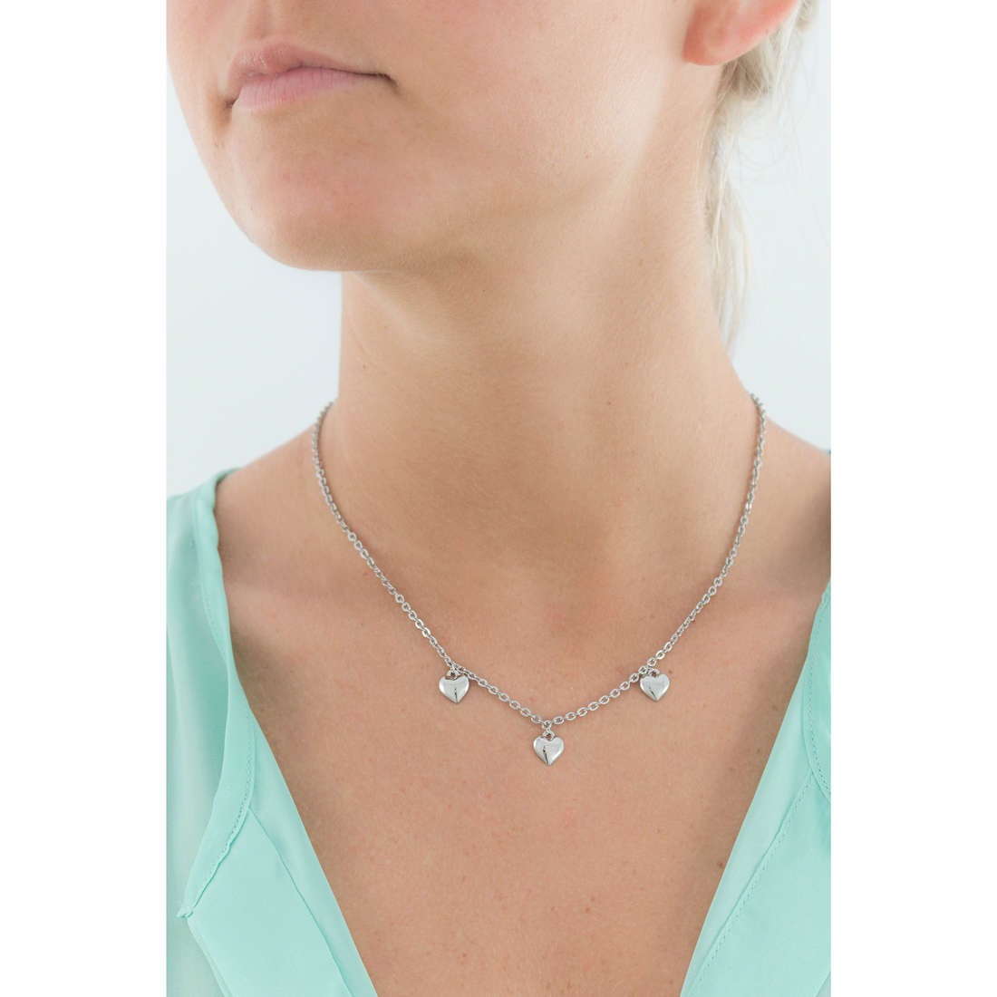 Morellato necklaces Tenerezze woman SAGZ05 indosso