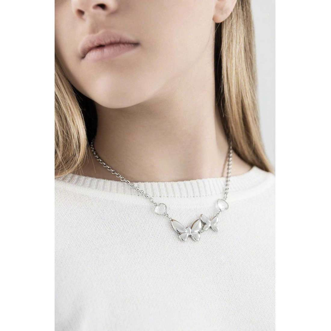 Morellato necklaces Volare woman SOX03 indosso