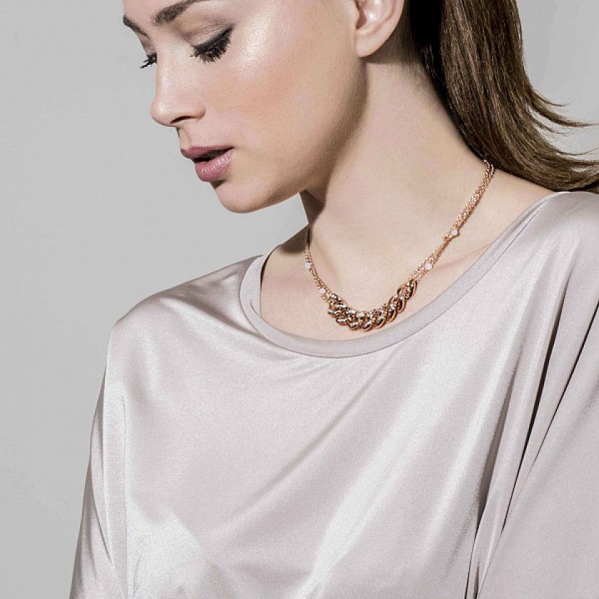 Nomination necklaces Swarovski woman 131506/001 photo wearing