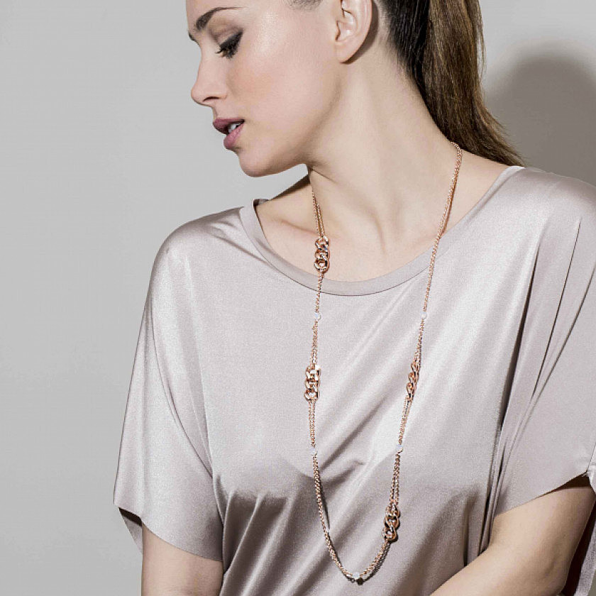 Nomination necklaces Swarovski woman 131507/001 photo wearing