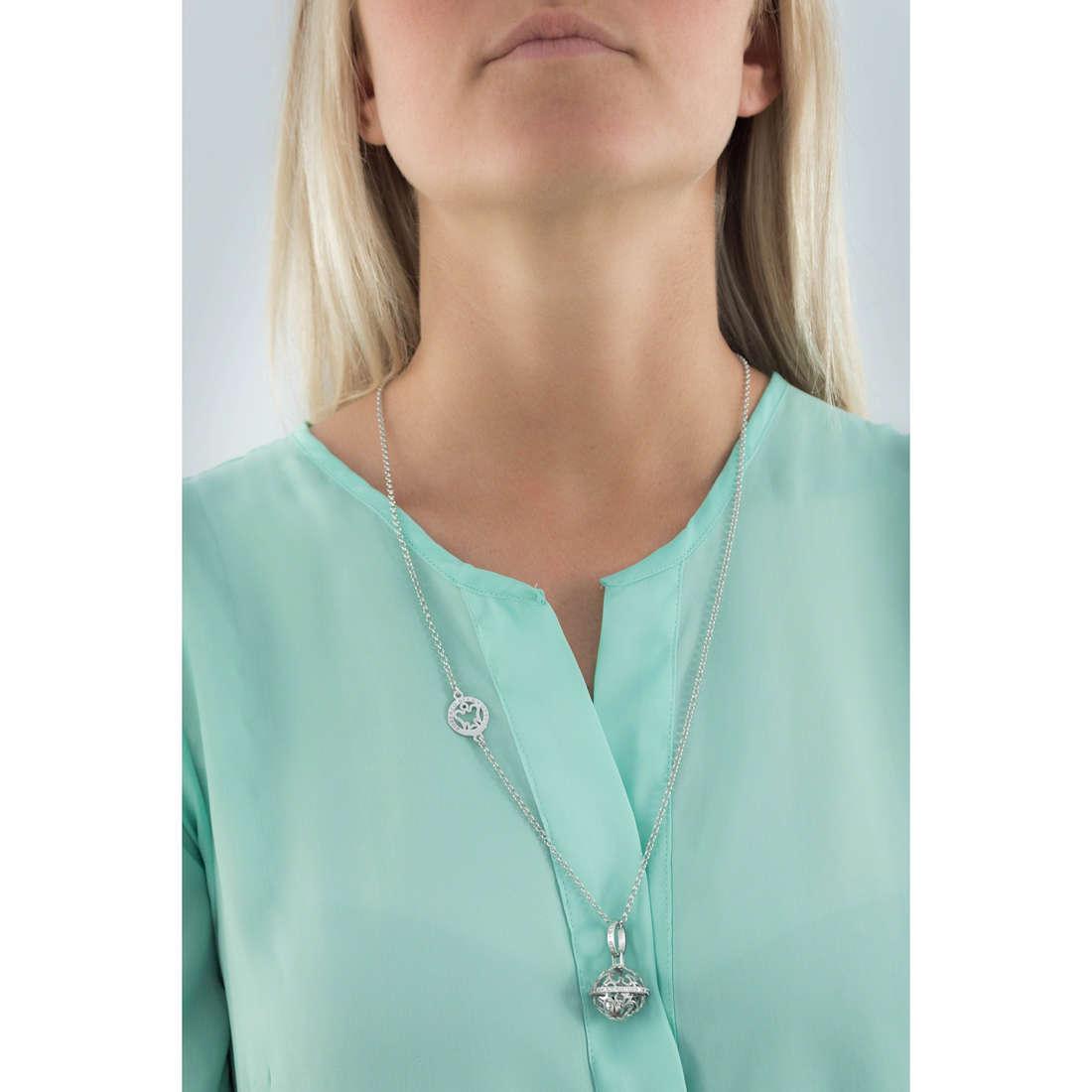 Giannotti necklaces Chiama Angeli woman SFA87 indosso