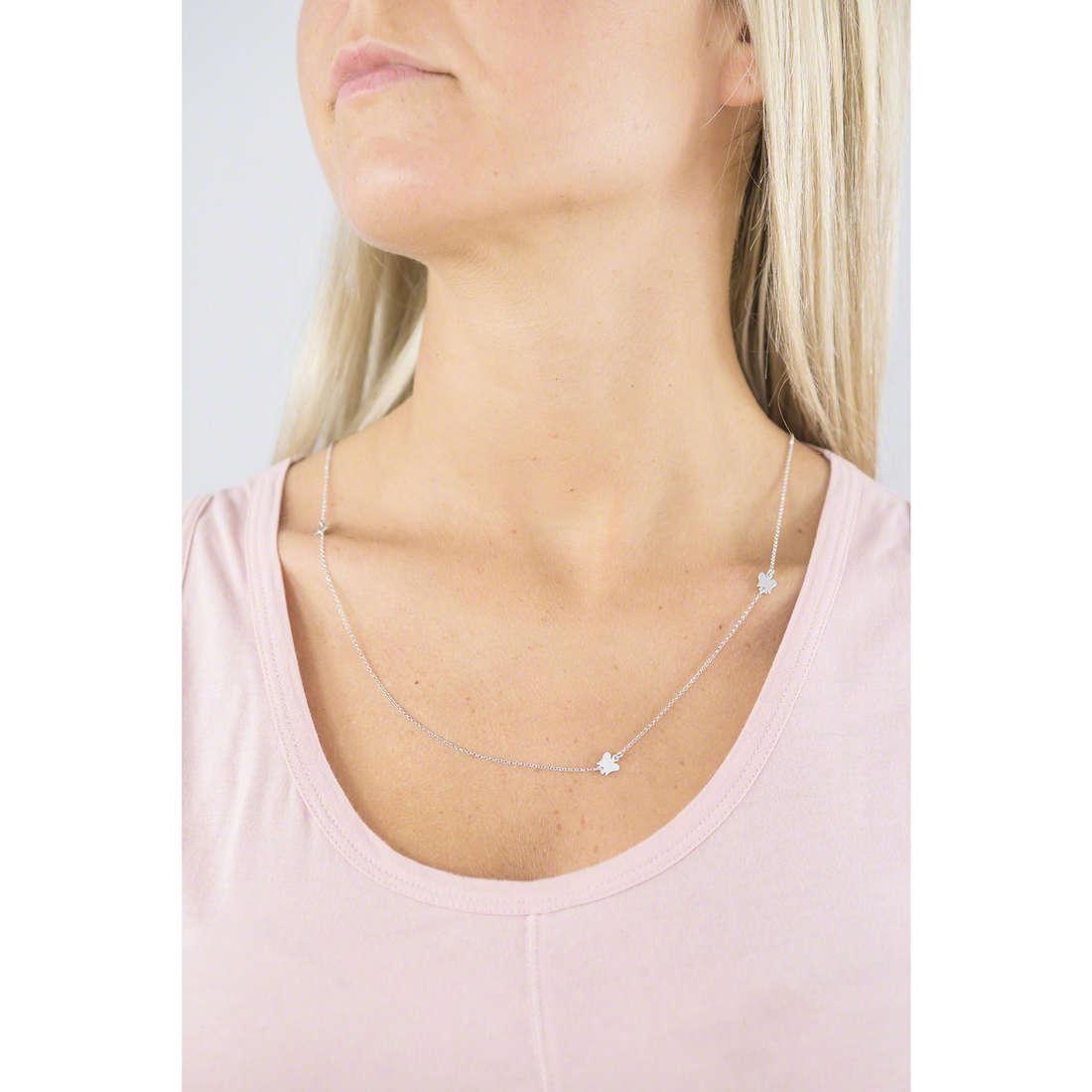 Giannotti necklaces Chiama Angeli woman SFA95 indosso