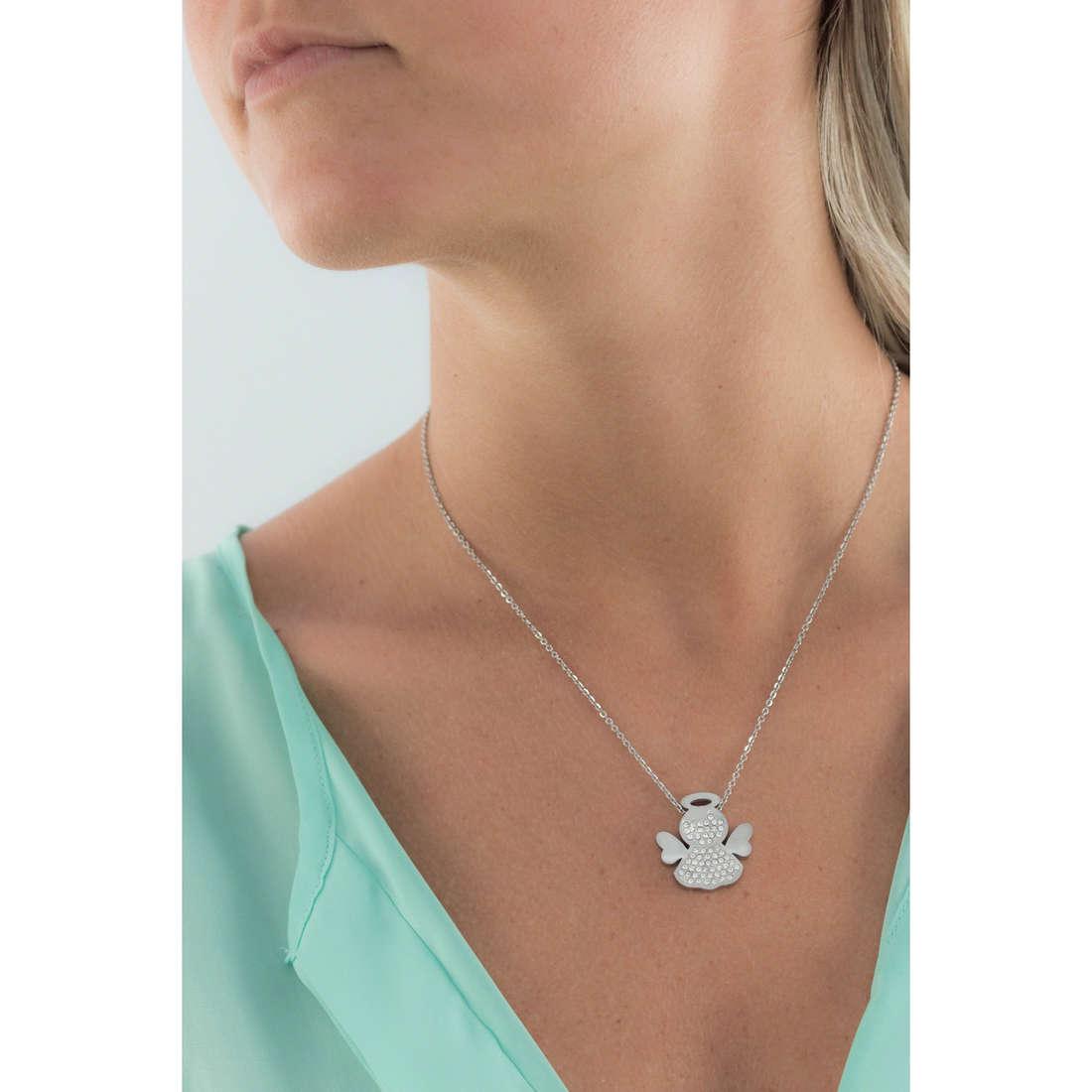 Sagapò necklaces Angels woman SAGAPOSNG05 indosso