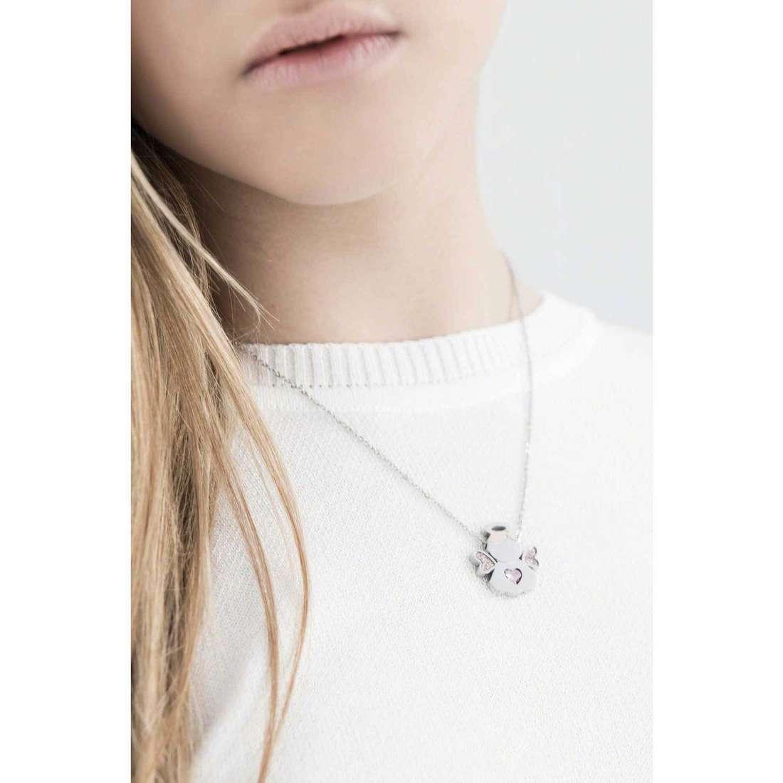 Sagapò necklaces Angels woman SNG03 indosso